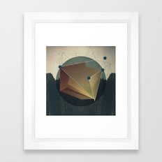 Mental Vacations. Framed Art Print