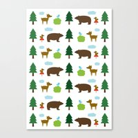 The Essential Patterns of Childhood - Forest Canvas Print