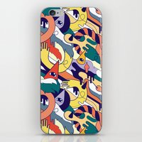 all over iPhone & iPod Skin