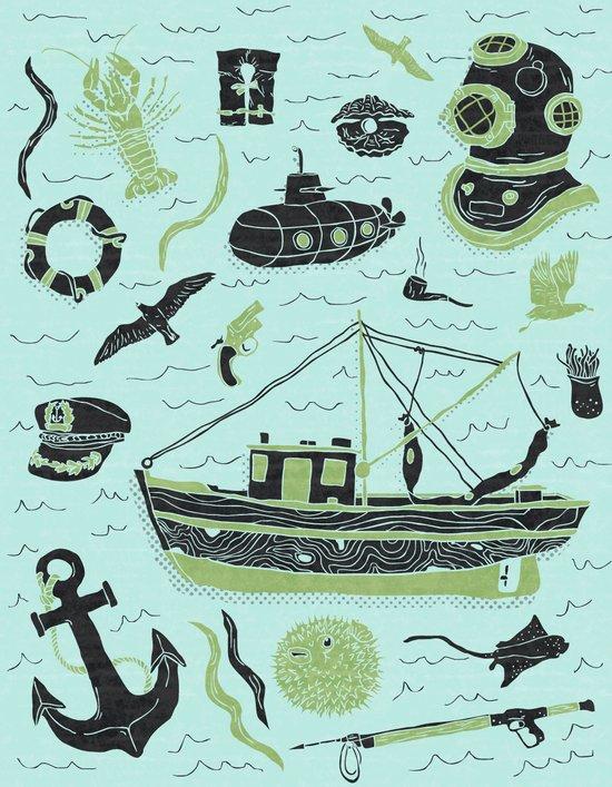 Aquatic Adventures Art Print