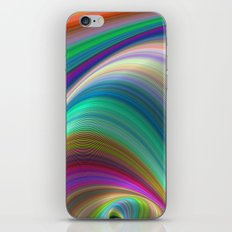Colorful dream iPhone & iPod Skin