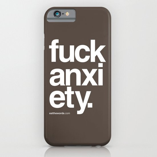 Fuck Anxiety iPhone & iPod Case