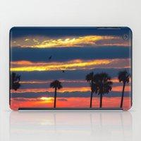 Palm Tree Sunset iPad Case