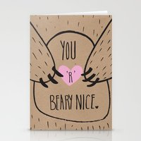 BEARY NICE  Stationery Cards