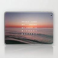 Laptop & iPad Skin featuring Spirit Lead Me by Zeke Tucker
