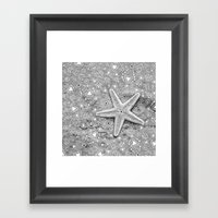 pow wow star Framed Art Print