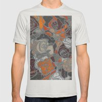 Relief Mens Fitted Tee Silver SMALL