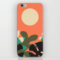 Jungle Sun #2 iPhone & iPod Skin