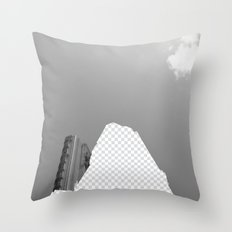 Vacant Architecture Throw Pillow