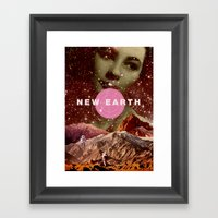 New Earth Framed Art Print