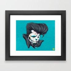 SLICK paint Framed Art Print