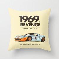 1969 Throw Pillow