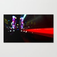 Speed Of Nyc Canvas Print