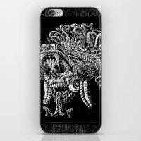 Serpent Warrior iPhone & iPod Skin