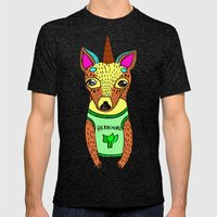 Herbivore Mens Fitted Tee Tri-Black SMALL
