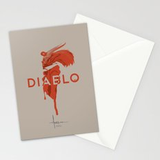 DIABLO409 Stationery Cards