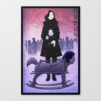 Sympathy for Lady Vengeance [full color] Canvas Print