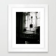 WHITEOUT : Confession Framed Art Print