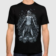 Winter Is Here Mens Fitted Tee Black SMALL