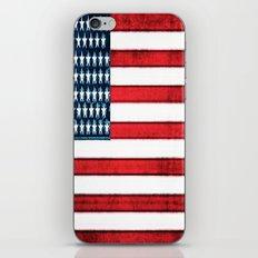 Patriot iPhone & iPod Skin