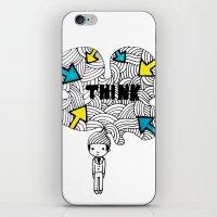Think, Dude. iPhone & iPod Skin