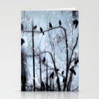 Gothic Snow Stationery Cards