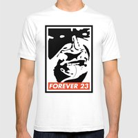 Obey Forever 23 Mens Fitted Tee White SMALL