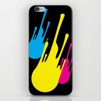 CMYKomet iPhone & iPod Skin