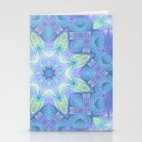 End Of Winter Mandala Stationery Cards