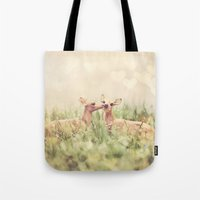 Let's Meet in the Middle Tote Bag