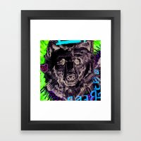 BEAR-asidad Framed Art Print