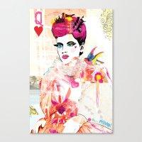 La Queen De Dimanche / T… Canvas Print