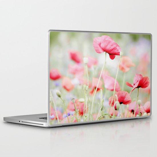 Poppy pastels Laptop & iPad Skin