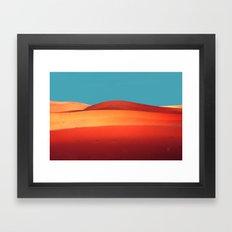 sensual desert  Framed Art Print