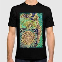 Jardin 3 Mens Fitted Tee Black SMALL