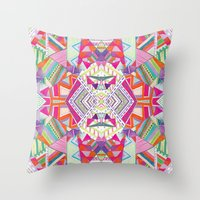CARROUSEL Throw Pillow