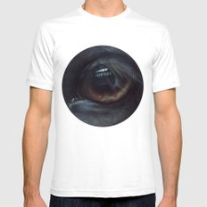 Miss & Horse Mens Fitted Tee White SMALL