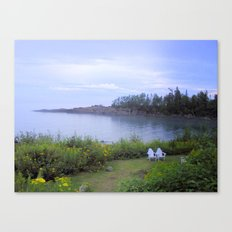 A Peaceful Evening Canvas Print
