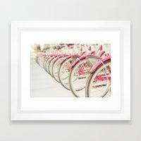 Sweet Rides Framed Art Print
