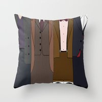 All Stories In The End Throw Pillow