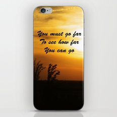 How far you can go iPhone & iPod Skin