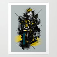 Sons Of Monarchy Art Print