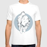Hyper Nation Mens Fitted Tee White SMALL