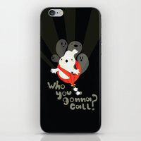 Ghost Busters iPhone & iPod Skin