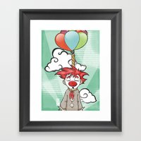 The Punch-line Framed Art Print