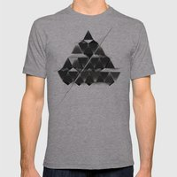PYRAMID_ Mens Fitted Tee Athletic Grey SMALL