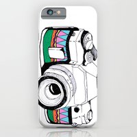 camera iPhone & iPod Cases featuring Camera by Mariam Tronchoni
