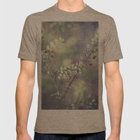 Abstract Magic Mens Fitted Tee Tri-Coffee SMALL