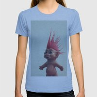 Troll Womens Fitted Tee Athletic Blue SMALL