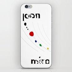 Joan Miro iPhone & iPod Skin